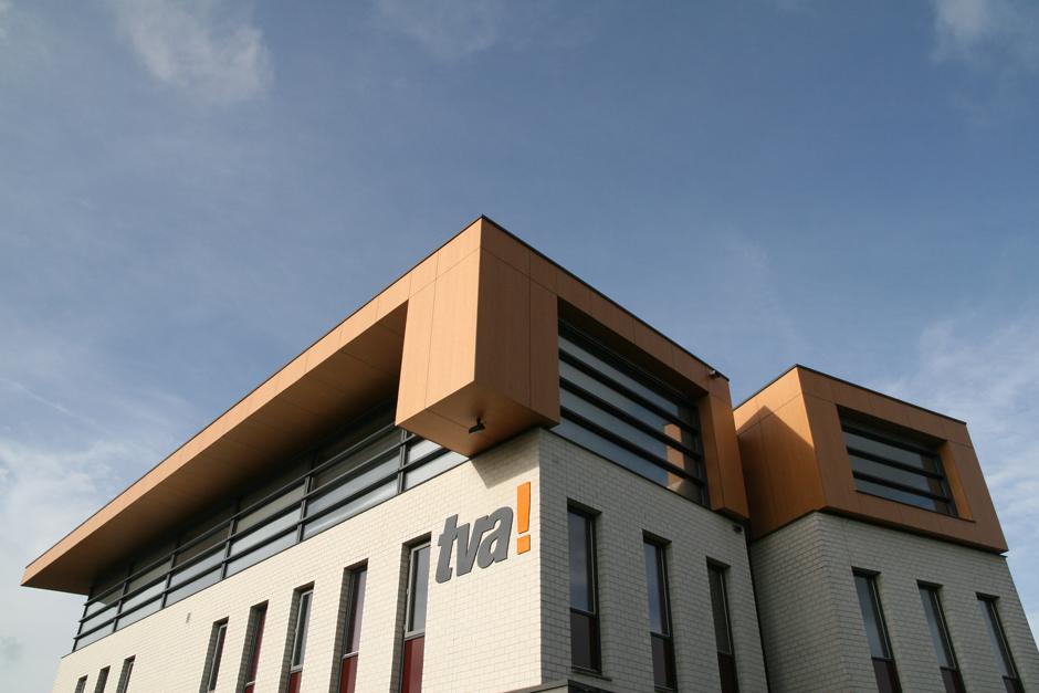 Idioom Architecten - Doetinchem - uitbreiding kantoor TVA media en communicatie aan de Koopmanslaan 12
