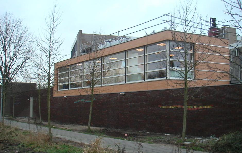 Idioom Architecten - Groesbeek - uitbreiding supermarkt aan de Bats