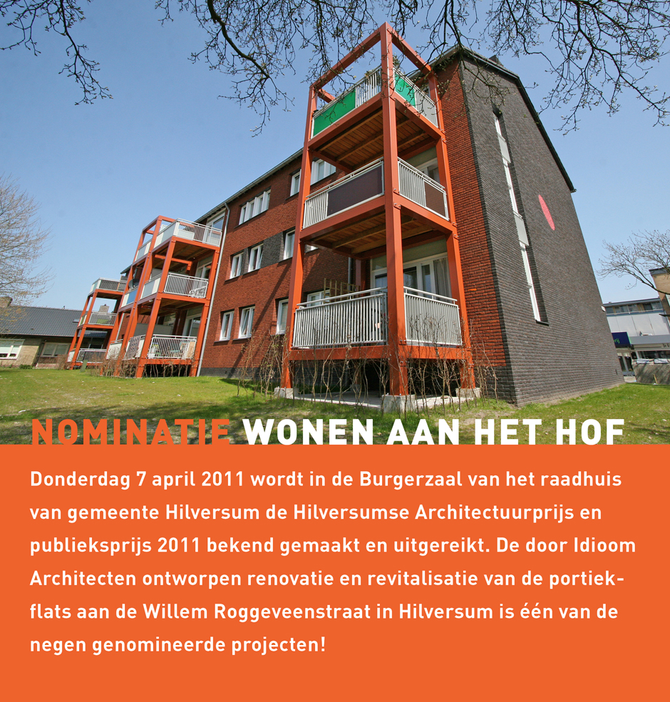 Nominatie Hilversumse Architectuurprijs
