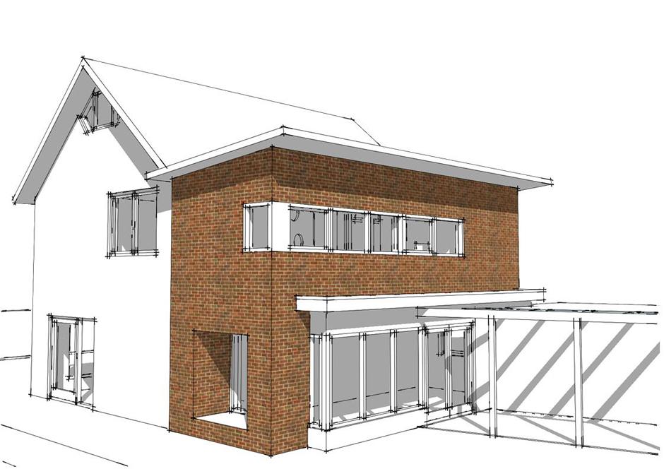 Idioom Architecten - Deventer - Uitbreiding woonhuis aan de Gerard van Swietenstraat