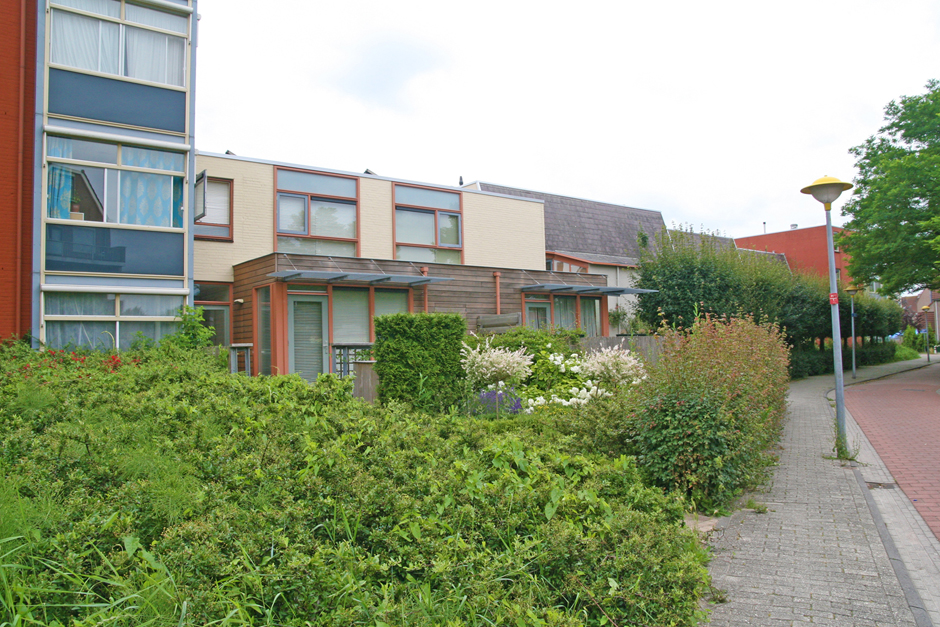 Idioom Architecten - Lelystad – revitalisatie en renovatie 212 eengezinswoningen en flatgebouwen in woonwijk Wold A (voor Centrada)