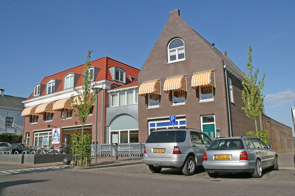 Idioom Architecten - Opheusden - nieuwbouw supermarkt en appartementen aan de Dorpstraat