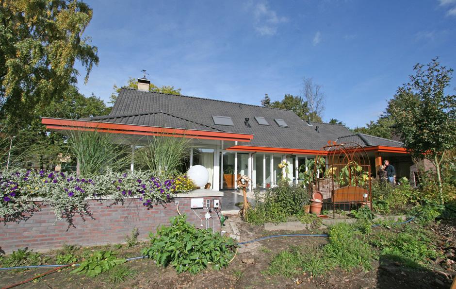 Idioom Architecten - Bathmen - uitbreiding en verbouwing woonhuis aan de Pollaan