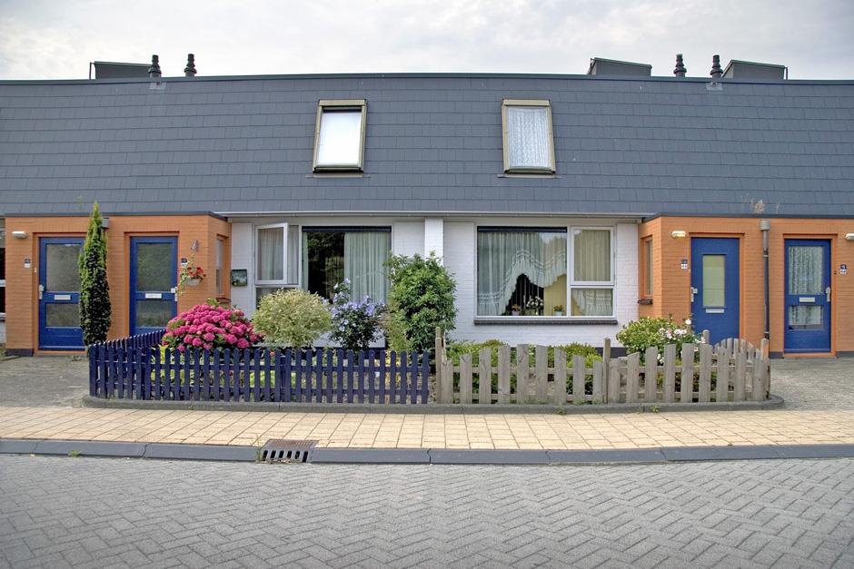 Idioom Architecten - Lelystad - revitalisatie en renovatie 254 eengezinswoningen in woonwijk Wold B (voor Centrada).