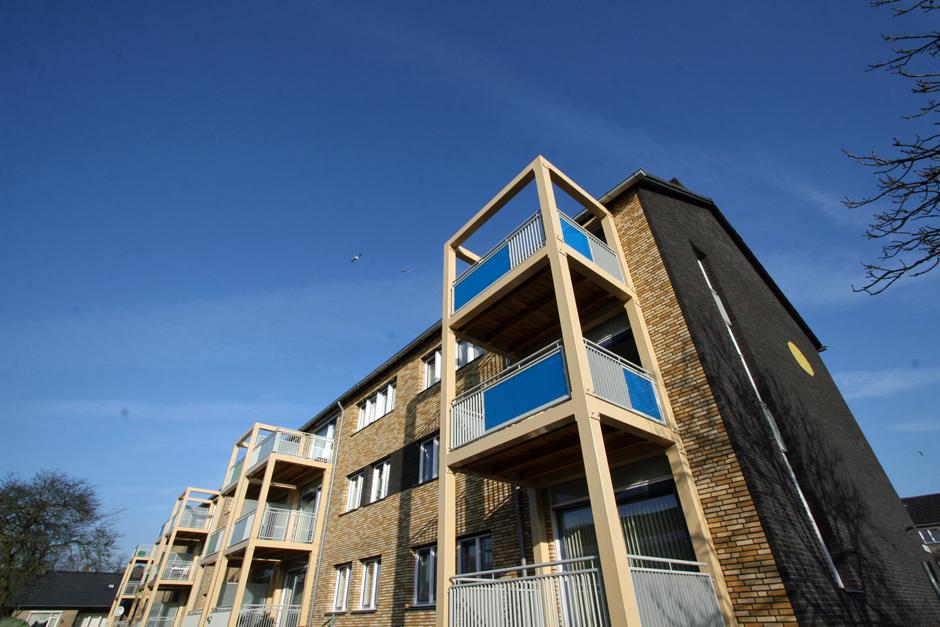 Idioom Architecten - Hilversum - renovatie portiekflats aan de J. Roggeveenstraat en W. Bontekoestraat