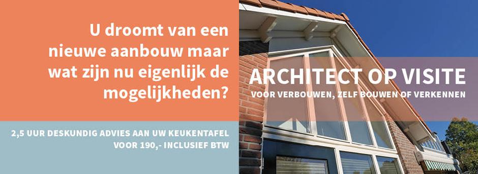 Nieuwe website voor onze dienst Architect op visite