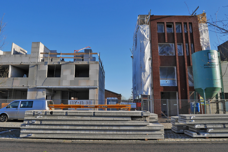 Startbouw nieuwbouw woonwerk-woning, Mr. H.F. de Boerlaan